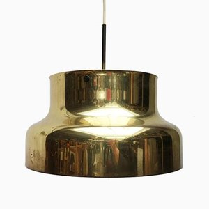 Mid-Century Bumling Brass Ceiling Lamp by Anders Pehrson for Ateljé Lyktan, 1960s