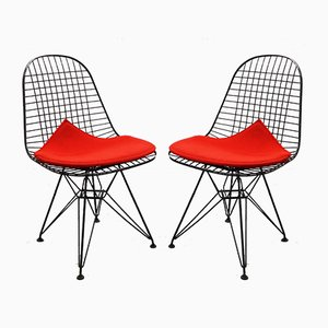 DKR 5 Armchairs by Charles & Ray Eames for Vitra, 1980s, Set of 2