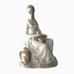 Spanische Casades Porzellanfigur, 1950er