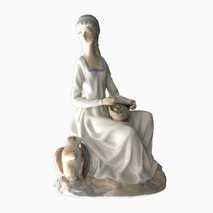 Spanish Casades Porcelain Figure, 1950s