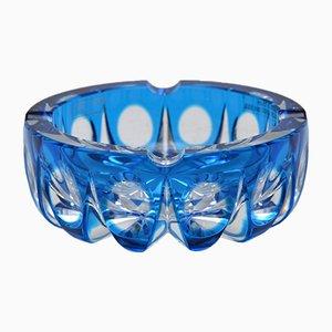 Mid-Century Crystal Glass Ambassador Ash Tray from Saint Louis