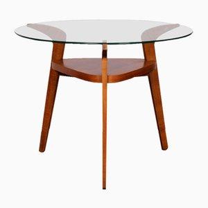 Czech Wood & Glass Coffee Table from Jitona, 1960s