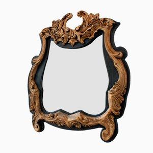 Vergoldeter Spiegel im venezianischen Rokoko Stil, 1860er