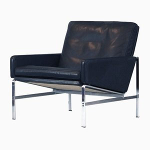 Mid-Century Leather FK 6720 Lounge Chair by Preben Fabricius & Jørgen Kastholm for Kill International