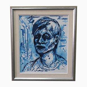 Erik Heinertz, Pittura moderna, Olio su tela, Svezia, anni '60