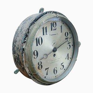 Italian Ship's Clock by Ottavio Ferrari Parma, 1960s