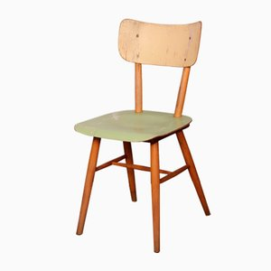 Czech Wooden Dining Chair from TON, 1960s