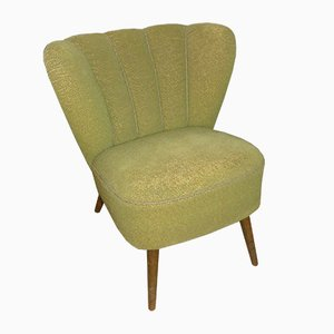 Pistachio Green Cocktail Chair, 1950s
