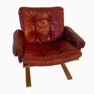 Mid-Century Kengu Lounge Chair by Elsa & Nordahl Solheim for Rykken