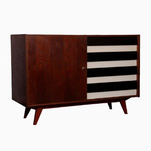 Oak U-453 Chest of Drawers by Jiří Jiroutek for Interier Praha, 1960s