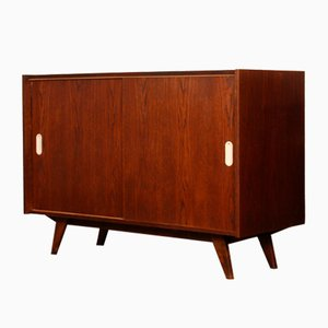 Oak U-452 Chest of Drawers by Jiří Jiroutek for Interier Praha, 1960s