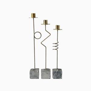 Krasen Kerzenhalter von Ikea, 1980er, 3er Set