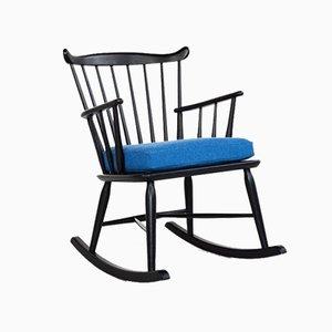 Rocking Chair Mid-Century par Thomas Harlev pour Farstrup, Danemark, 1960s