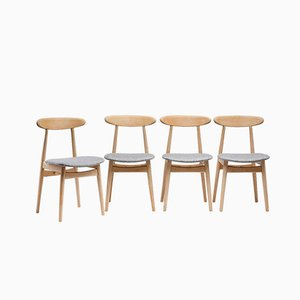 Type 5912 Dining Chairs, 1960s, Set of 4