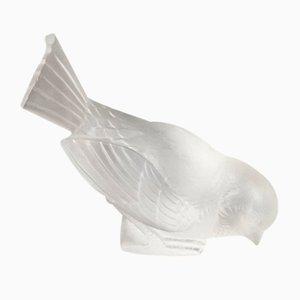 Glass Hardi Sparrow by René Lalique