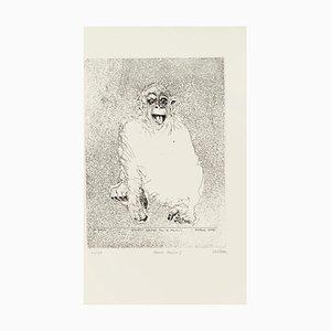 Sergio Barletta, Homo Ludens, Radierung, 1991