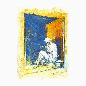 Sergio Barletta, Reading, Mixed Media, 1995