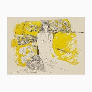 Sergio Barletta, Nude, Lithograph, 1980s