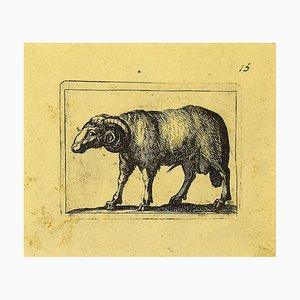 Antonio Tempesta, Ram, Etching, 1610s