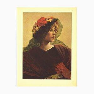 Alfred Pierre Agache, Imperia, Lithograph, 1899