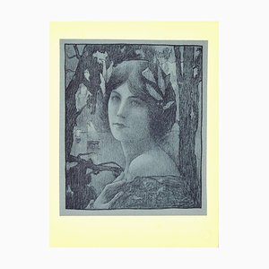 Henri Guinier, Sweet Night from L'estampe Moderne, Lithograph, 1899