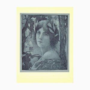 Henri Guinier, Sweet Night von L'estampe Moderne, Lithografie, 1899