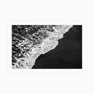 Large Giclee Print of Deep Black Sandy Shore, 2021