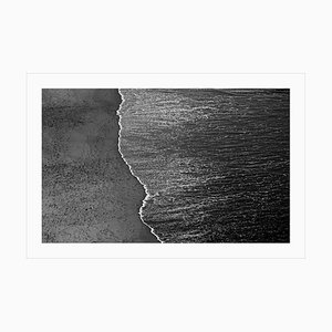 Large Black and White Giclée Photograph of Seascape, 2021