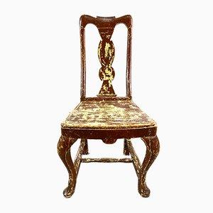 Swedish Gustavian Dining Chair, 19th Century