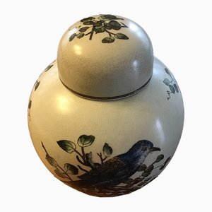 Chinese Container with Lid, 1930s, Set of 2
