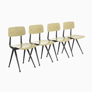 Result Dining Chairs by Friso Kramer & Wim Rietveld for Ahrend De Cirkel, 1964, Set of 4