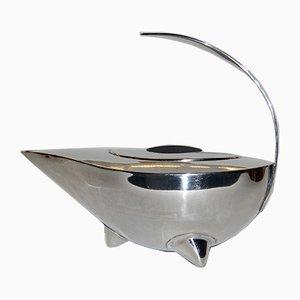 Aladdin's Lamp Style Stahl Naoko Teekanne von Carsten Jorgensen für Bodum, 1980er