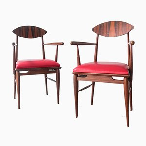 Sucupira Wood Armchair, 1960s