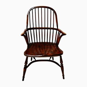 Viktorianischer Eschenholz Windsor Stuhl, 1850er