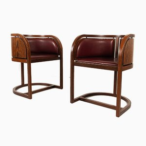 Danish Wenge Armchairs by Claus Bonderup & Torsten Thorup, 1970s, Set of 2