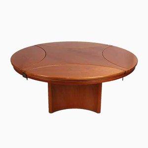 Beech Wood Adjustable Coffee Table, 1970s