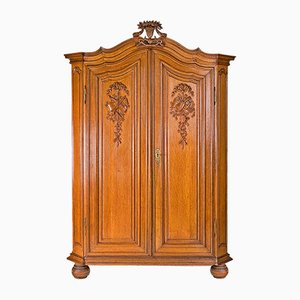 Louis XVI Oak Wardrobe, 1780