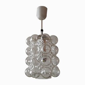 Bubble Glass Ceiling Lamp by Helena Tynell for Glashütte Limburg, 1960s