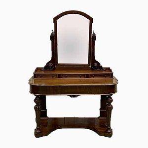 Victorian Mahogany Dressing Table, 19th Century
