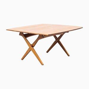 Danish Teak Coffee Table by Arne Hovmand-Olsen for Mogens Kold, 1960s