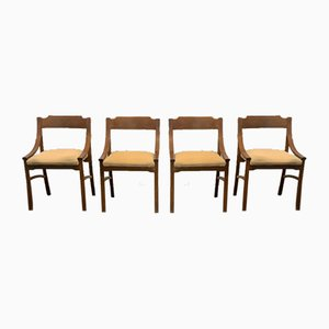 Dining Chairs by Ico Luisa Parisi, 1960s, Set of 4