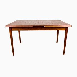 Large Scandinavian Teak Extendable Dining Table by Nils Jonsson for Hugo Troeds, 1960s