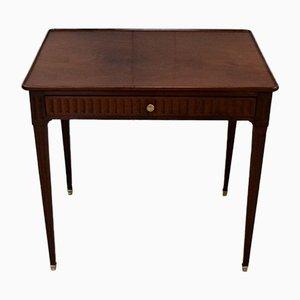 Small Louis XVI Mahogany Side Table, 18th Century