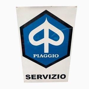 Schild von Piaggio, 1970er
