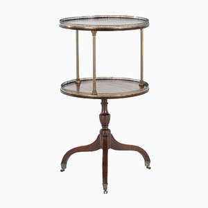English Two Tier Dumb Waiter, 1800s