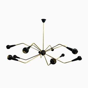 Sputnik Spider Ceiling Lamp, 1950s