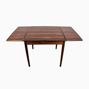 Danish Rosewood Game Table by Poul Hundevad for Hundevad & Co., 1958