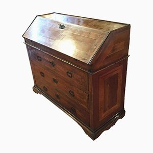 Ancient Walnut Secretaire, 1700s