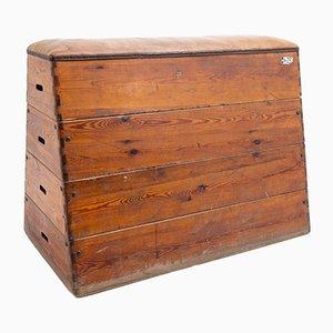 Dekorative Vintage Sportbox, 20. Jahrhundert