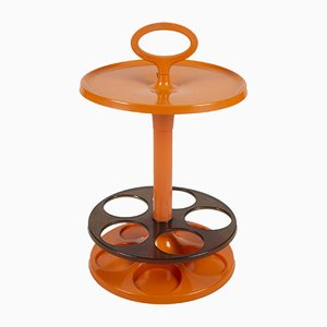 Vintage Orange Bar Table from Flair